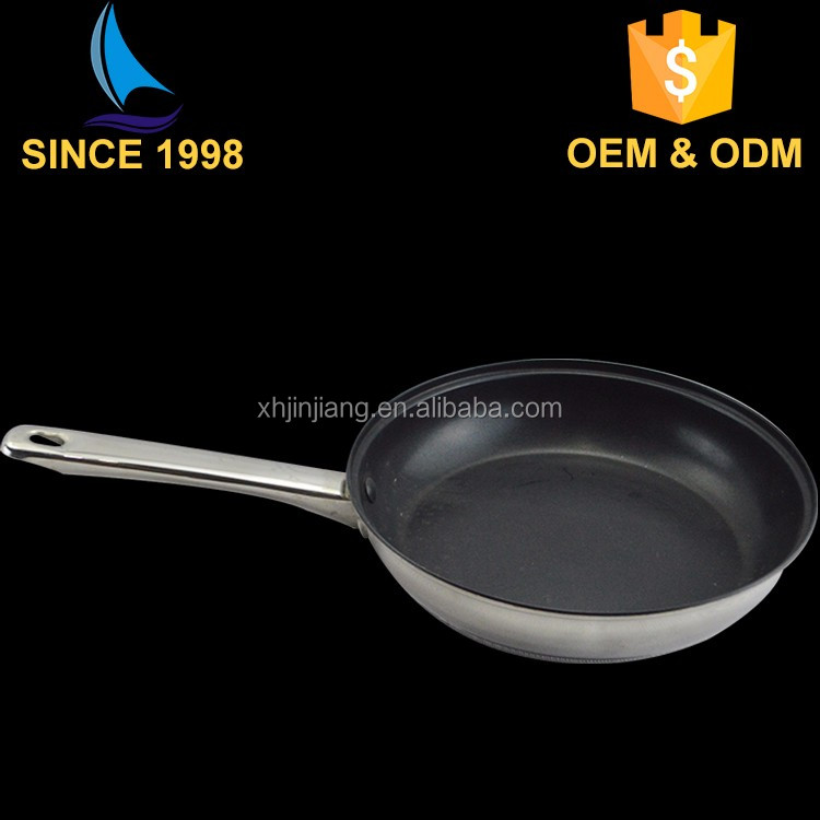 step and rolled edge coating inside and mirror outside waterless nonstick cookware