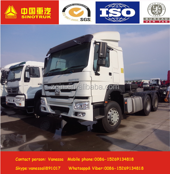 discount price sinotruk howo 38 ton 39 ton 40 ton tractor trailer truck