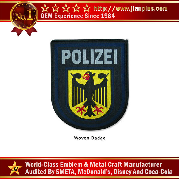 Merrow Border Police Woven Badge