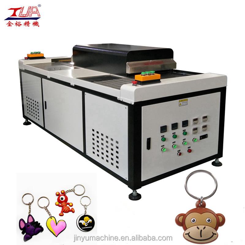 Jinyu pvc cartoon keychain baking machine