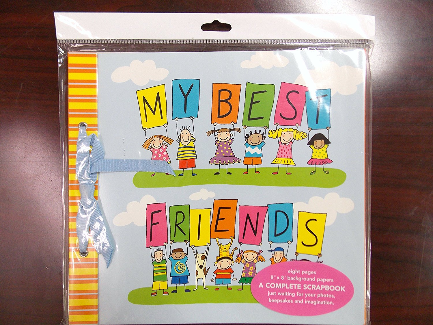 MCS MBI 13.5x12.5 Magical Moments Theme Scrapbook Album with 12x12 Pages 860138