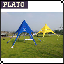 Deep blue star beach sun shade tents/ star tents for large events & Guangzhou Plato Industrial Co. Ltd. - Star tentsFolding tents