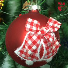 Best christmas tree ornaments glass ball decor