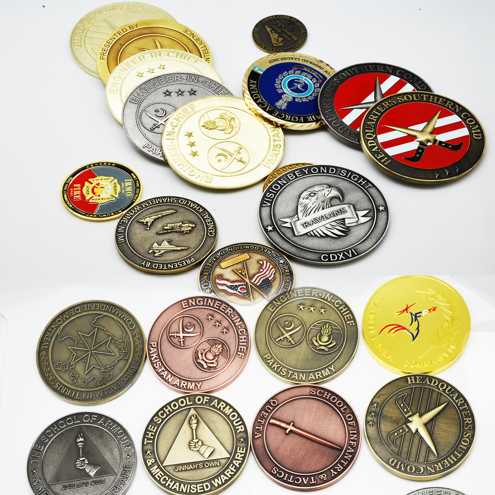 Pakistan Army Die Casting Zinc Alloy Metal Coin And Souvenirs ...
