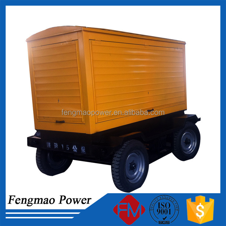 75kw movable diesel generator with protection cabinet