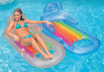 Hot Sale Inflatable Floating Lounger Swimming Pool Float Lounge Floater  Raft Chair - Buy Inflatable Floating Lounger,Lounge Floater Raft Chair,Pool  ...