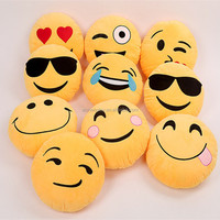 Best Made Shit Plush Pillow custom soft cute cheap whatsapp plush emoji pillows, emotion plush emoji pillow