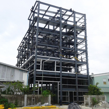 Metal frame structure prefabricated steel apartment permanent building