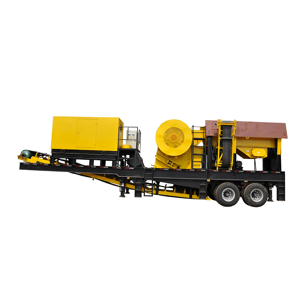 Quarry Limestone Crusher Mobile Aggregate Plant