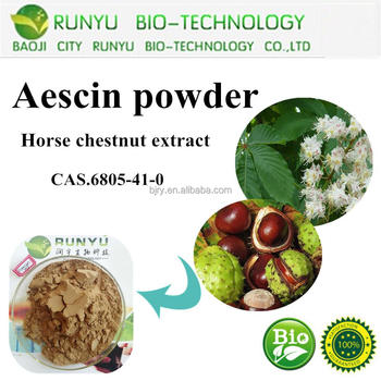 Top Quality Organic Aescin horse chestnut extract 20%-98%