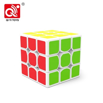 56mm X-Man 3x3 speed cube puzzle plastic iq toys with anti-stick design