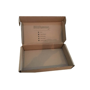 Bulk E-flute corrugated packaging shipping box custom design cardboard mailing box