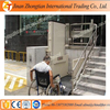 Electric wheelchair lift used for disabled people indoor outdoor vertical lifter