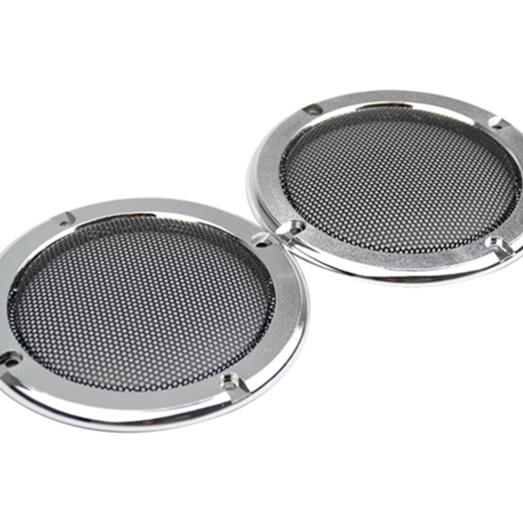 4 inch Silver Speaker decorative circle protective grille