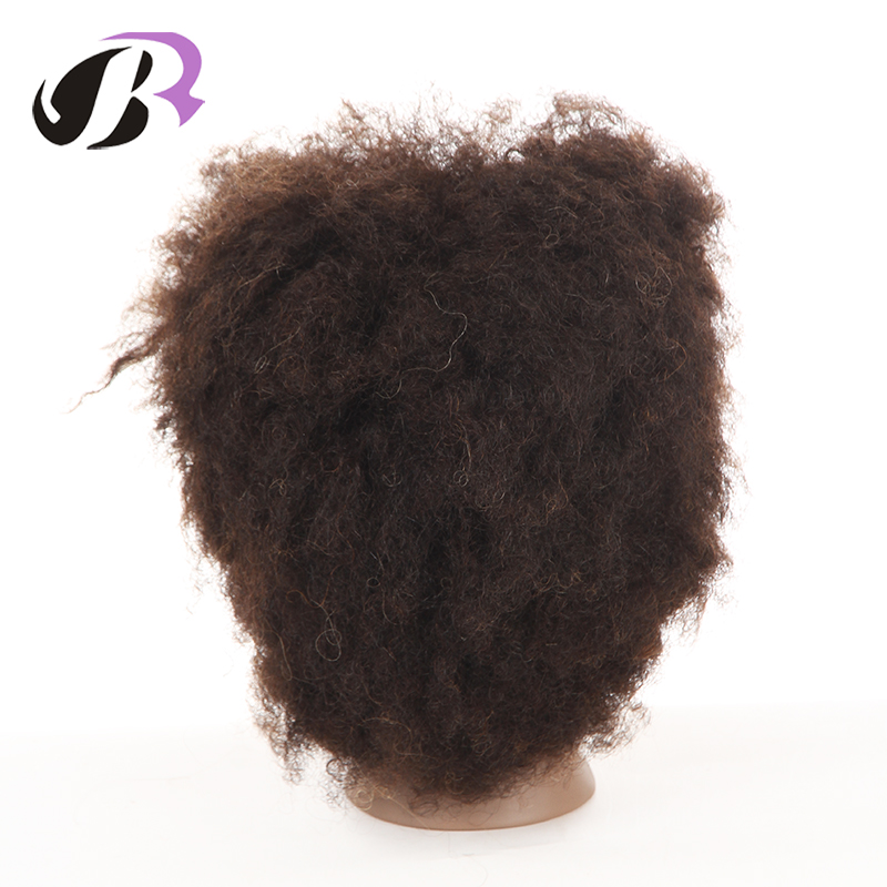 Wholesale Afro Training Mannequin Head With 100% Human Hair for Hair Schools
