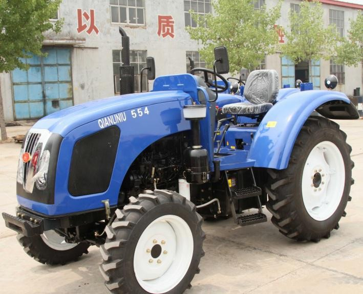 55HP wheel tractor for farm use