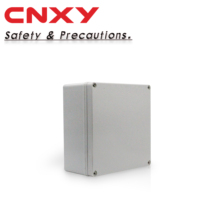 Electronic Instrument Enclosures IP 67 Weatherproof Connection Box Grey Plastic Waterproof Junction Box 200*200*95mm