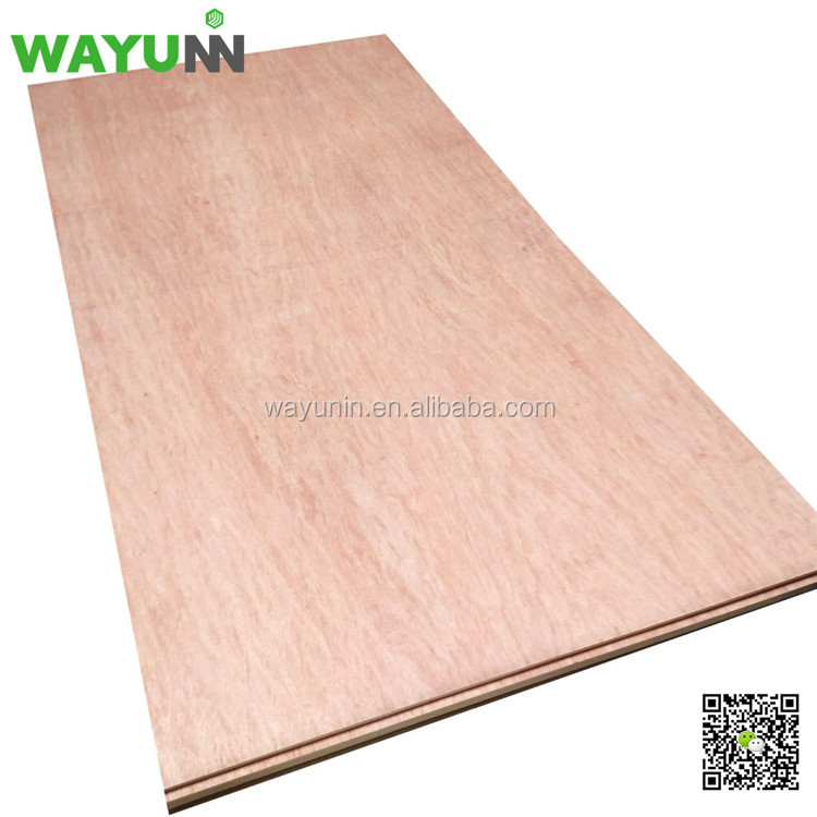 Construction ceiling panel thin plywood 3mm 4mm 5mm thickness ceiling plywood