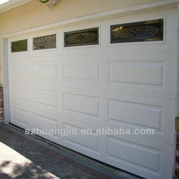 Remote Galvanized Steel Garage Door Windows That Open