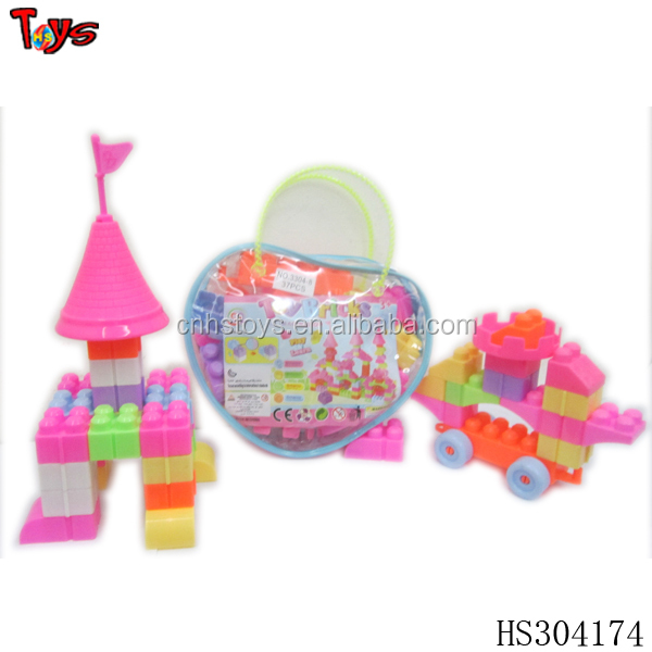 promotional lovely kids plastic construction toy import toys directly from china