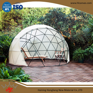HL event geodesic dome tent fabric of pvc