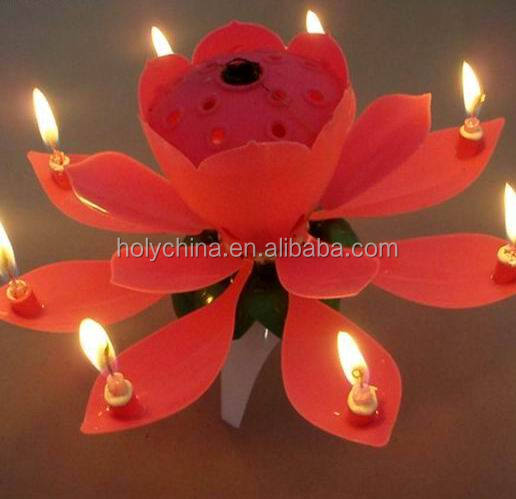 hot sale high quality cake fountain candles