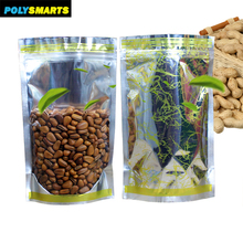 Best Quality Stand Up Zipper Bag Packaging, Different Stand Up Zipper sac Transparent Plastic Pouch*