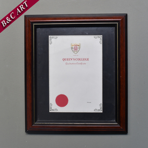 Brown Wood Crafts Photo Frame A4 Certificate Frame