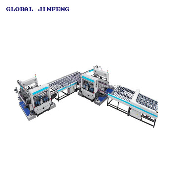 JFD2015 High speed glass double edging machine for furniture glass