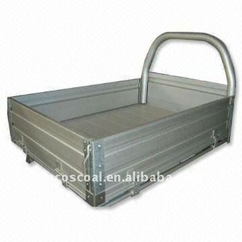 Mini aluminum tray body for show