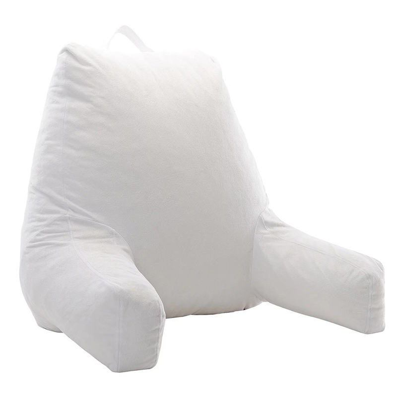 Amaozn whosale Good Quality Shredded Lumber back support reading  Pillows