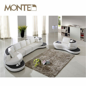 Latest Design Modern Leather Corner Sofa Set - Buy Design Sofa ...