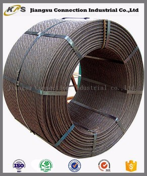 15.24mm 7 Wire Steel Cable Wire Rope Pc Strand - Buy Steel Cable ...