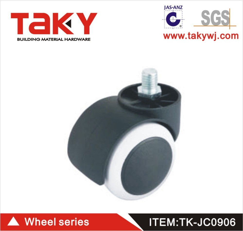 Pu Material Small Furniture Caster Wheels Samll Wheel Product On Alibaba