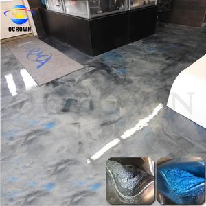 Metallic Pearl Pigments For 3d Epoxy Floors Epoxy Floor Pigment