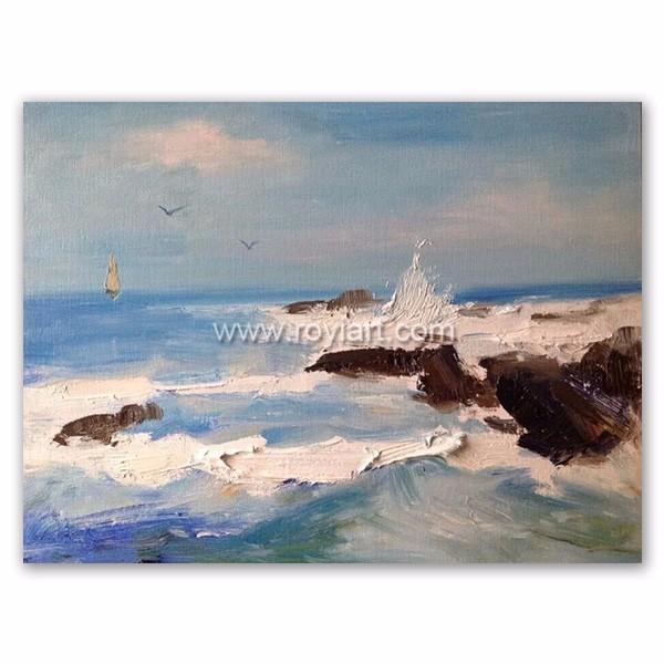 paesaggi marini dipinti all\'ingrosso-Acquista online i migliori ...