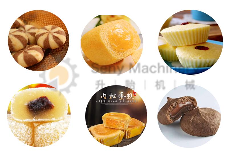 Focaccina rotonda della torta della tazza che forma macchina commerciale cupcake maker con diversi di cottura vassoi per fare una varietà di alimenti