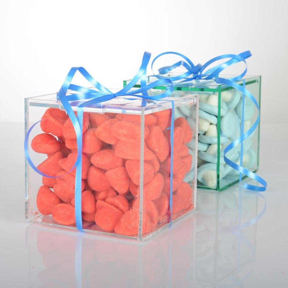 Clear Acrylic Wedding Favor Candy Box,Plastic Candy Gift Box Wedding ...