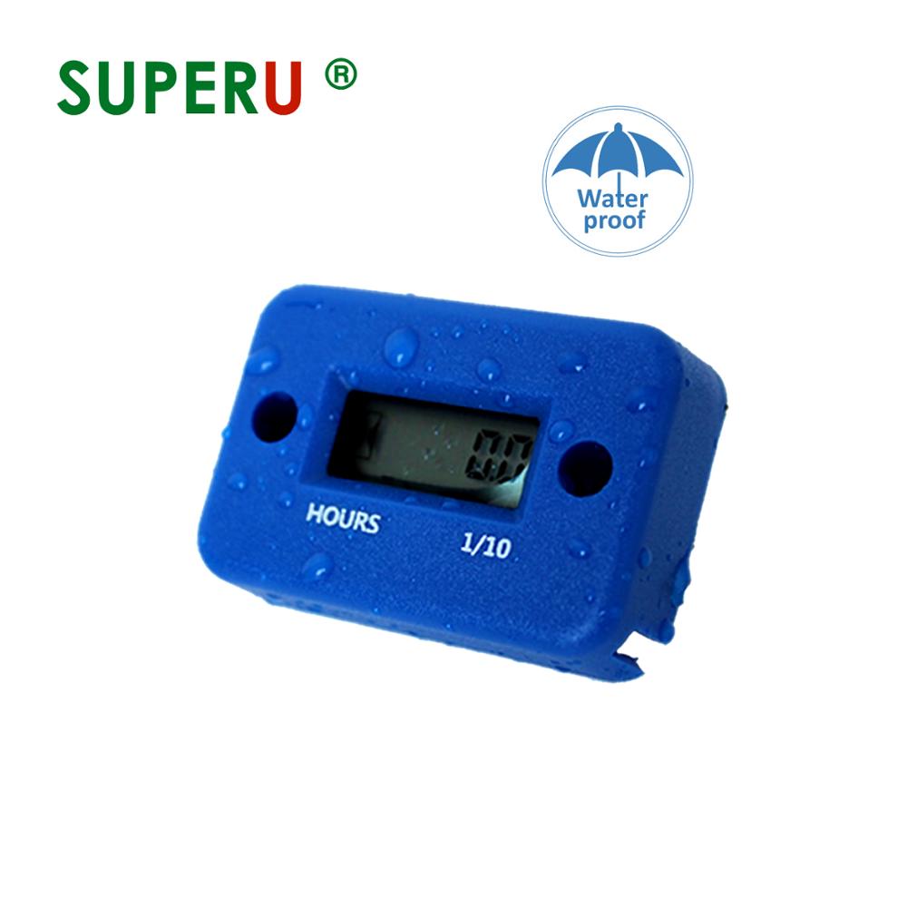 Superu Inductive Hour Meter For Motors Atv Snowmobile Boat Stroke Gas  Engine Generator - Buy Atv Hour Meter,Atv Digital Hour Meter,Atv Digital  Running