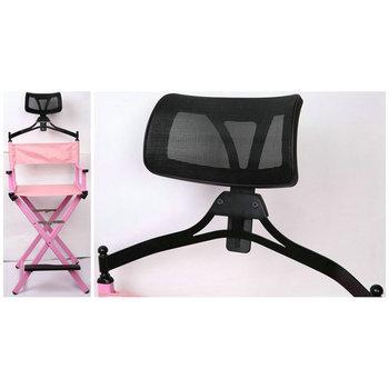 Merveilleux Elegant Aluminum Pink Hairdressing Makeup Folded Chair   Buy Aluminum  Makeup Chairs Headrest,Lightweight Aluminum Folding Director Chair,Director  ...