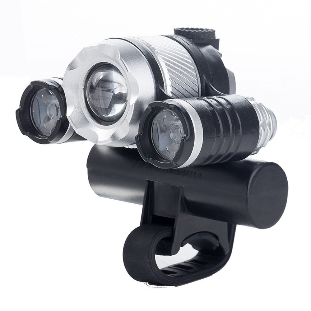 Bike Bicycle Accessories, USB Rechargeable XML T6 LED Bicycle Bike Light Front Cycling Light Head lamp