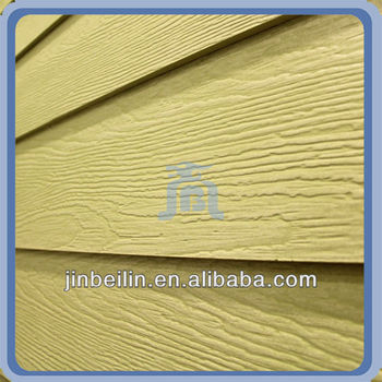 High Quality Decorative Exterior Wall Wood Grain Fiber Cement Board