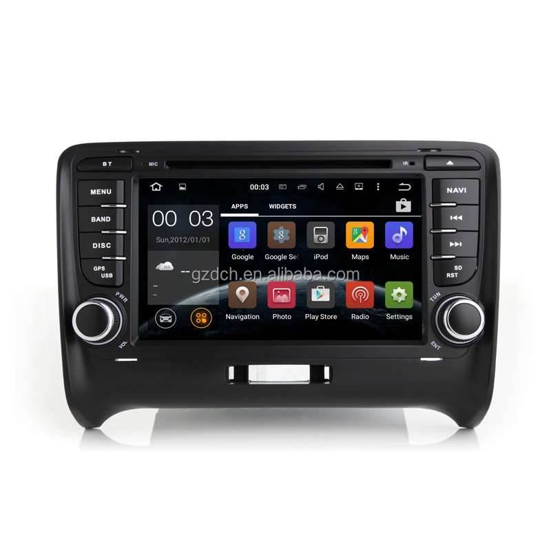 quad core <strong>android</strong> 7.1 car dvd player for audi TT with can <strong>bus</strong> 2G+16G WS-9412