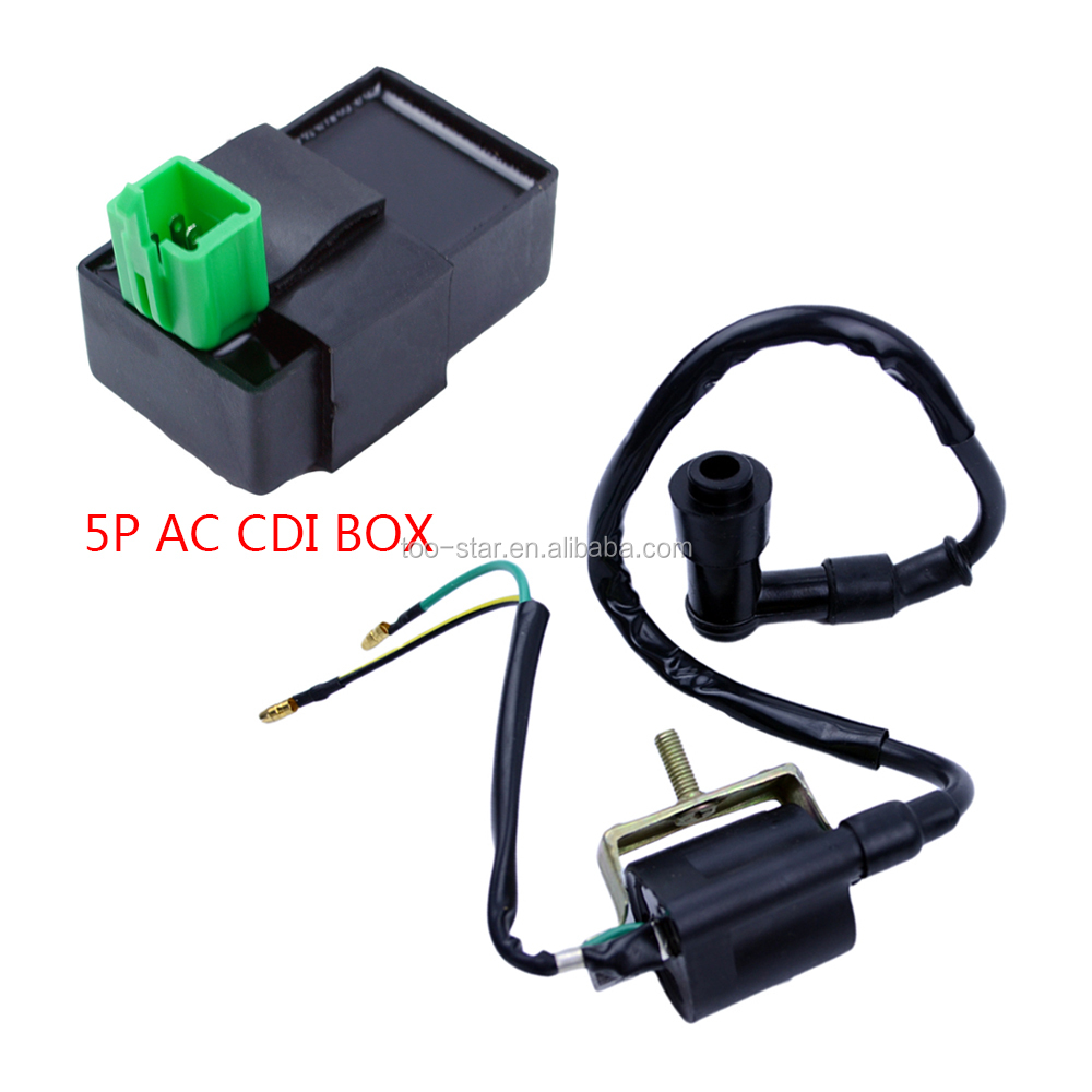 ATV Accessories CDI Box For Motorcycle 50cc 70cc 90cc 110cc Scooter Accessory