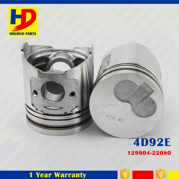 <strong>Diesel</strong> Engine Small Auto Parts Piston 4D92E 4D92 Piston Kit 129904-22080