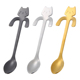 Lovely Funny Cute 304 Stainless Steel cat spoon