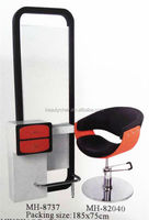 high quality hair salon mirror station / barber mirror/table and chair