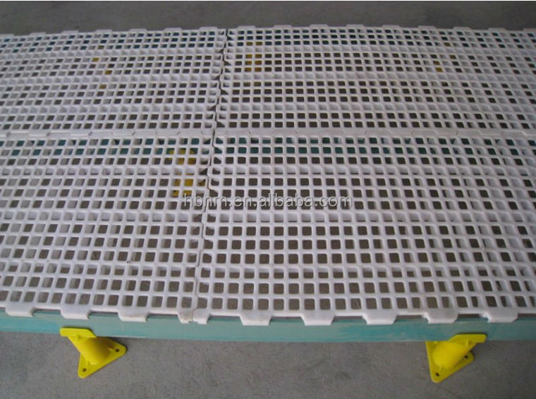 Poultry Plastic Flooring System With Beam Amp Tube Amp Base
