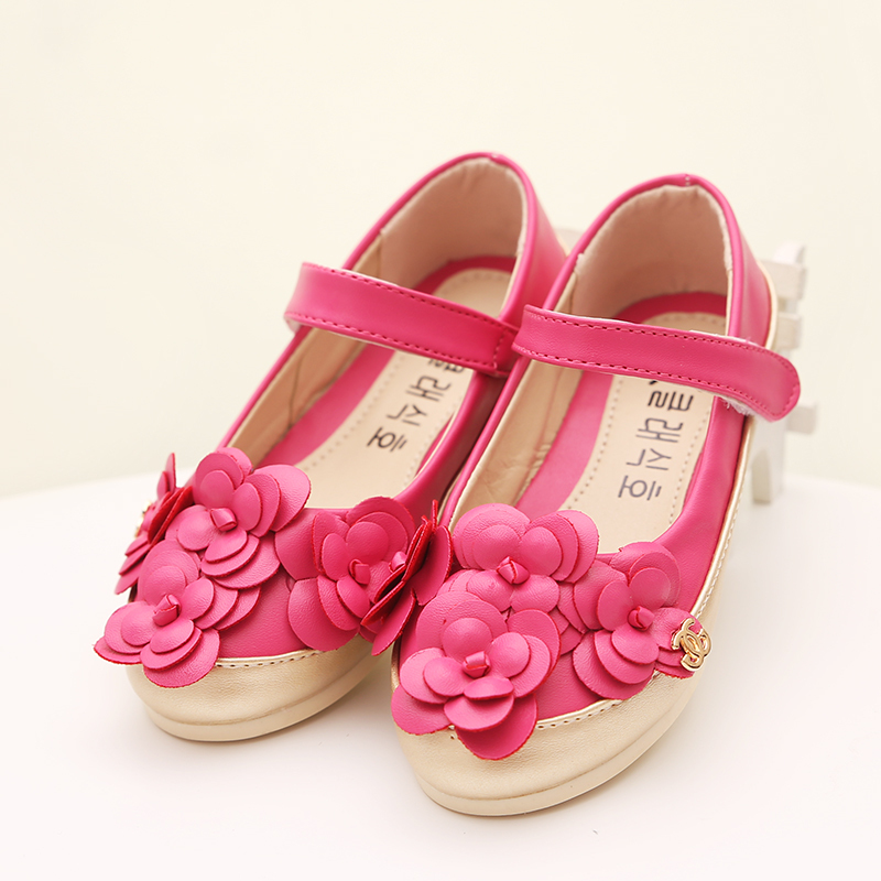 0d9e4c344e0c Get Quotations · 2016 wedding flower girl shoes, Cute kids shoes for girl  leather mocasines ,Children's formal