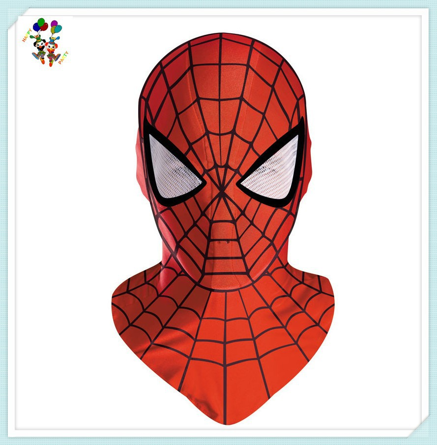 Adult Cartoon Spiderman Masquerade Halloween Party Masks HPC-0448